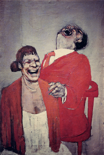 Laughing Couple, 1956
