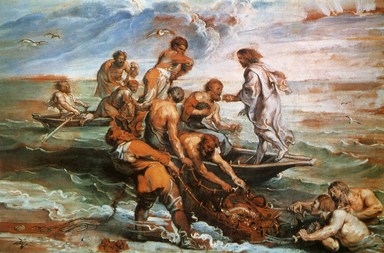 Peter Paul Rubens, The Miraculous Draught of Fishes