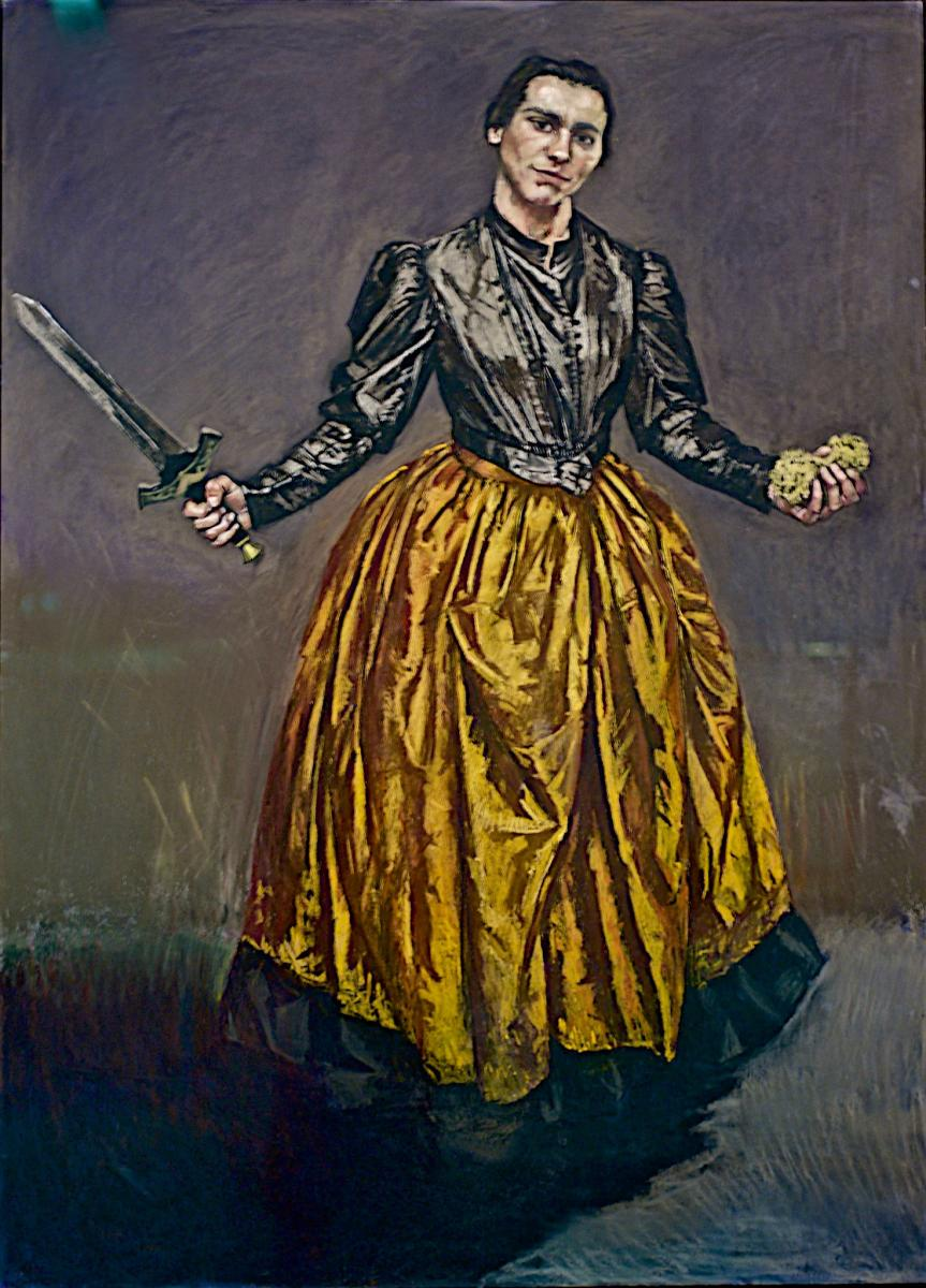 Paula Rego, Angel, 1998