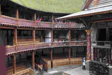 Globe Theatre balcony