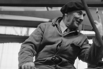 Naum Gabo in 1957