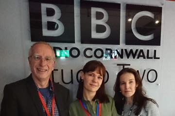 Felicitas Wagner, Emma Gill and John McEvoy
