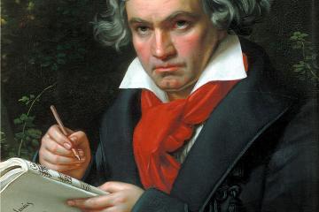 Beethoven - Joseph Stieler, 1820