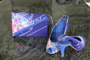 handmade shoes and handbag