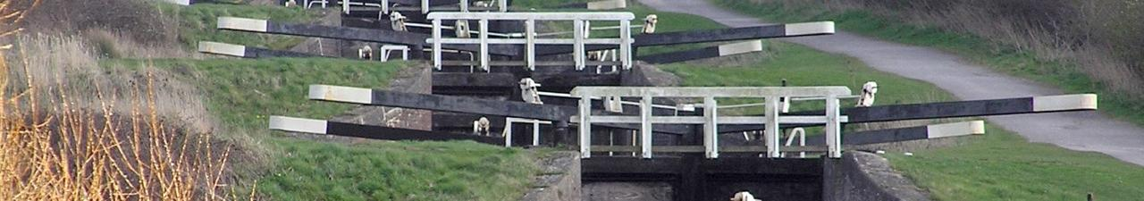 Caen Hill Locks - The Kennet and Avon Canal, Devizes