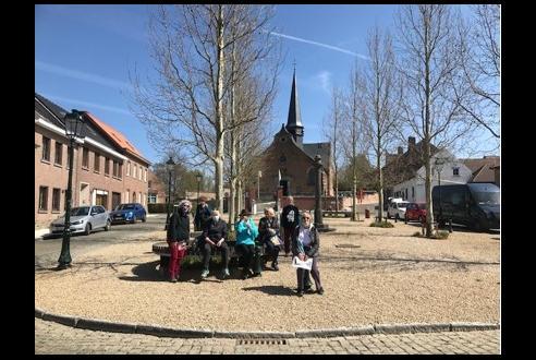 Brussels Womens Club charity walk