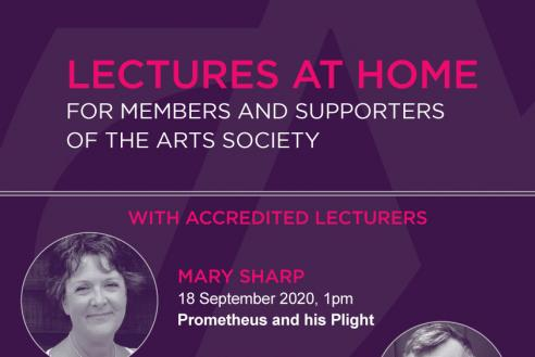 The Arts Society Lectures at Home details