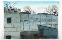 First Light in February, HM Prison Channings Wood, Watercolour and Gouache