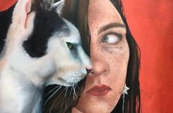 Megan Payne, Sisters with Cat