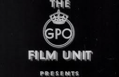 Still showing the GPO Film Unit logo