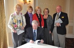 Members book signing