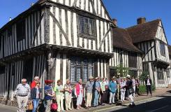TAS Chester Suffolk Trip June 2018 - Lavenham